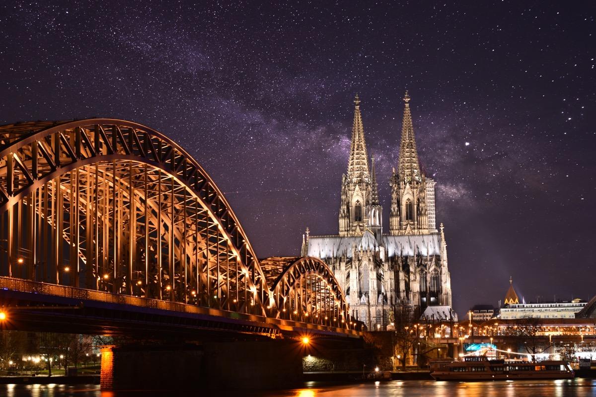 Köln bei Nacht - Suchmaschinenoptimierung Google